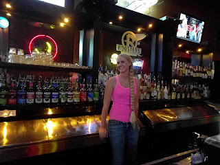 Brooke the bartender at Roosters