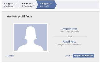 cara membuat foto profil