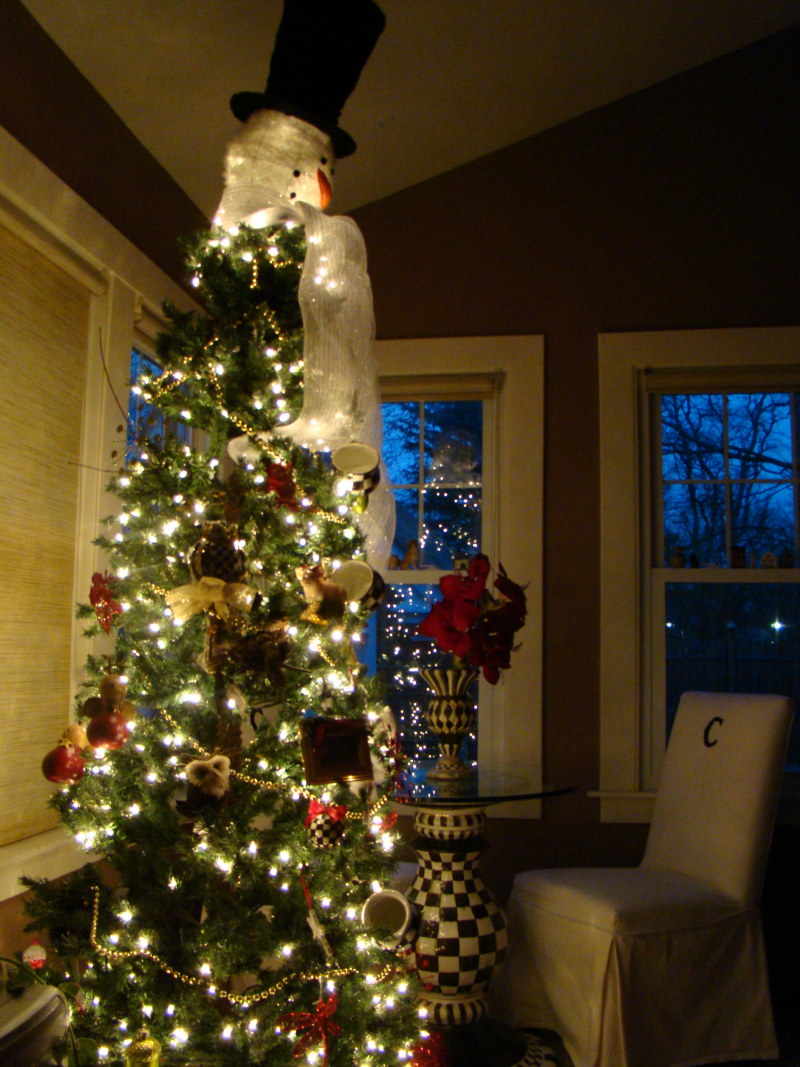 Mackenzie Childs Christmas Tree In The Sunroom Mountain