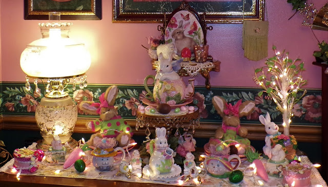 Easter Bunny Tea and More