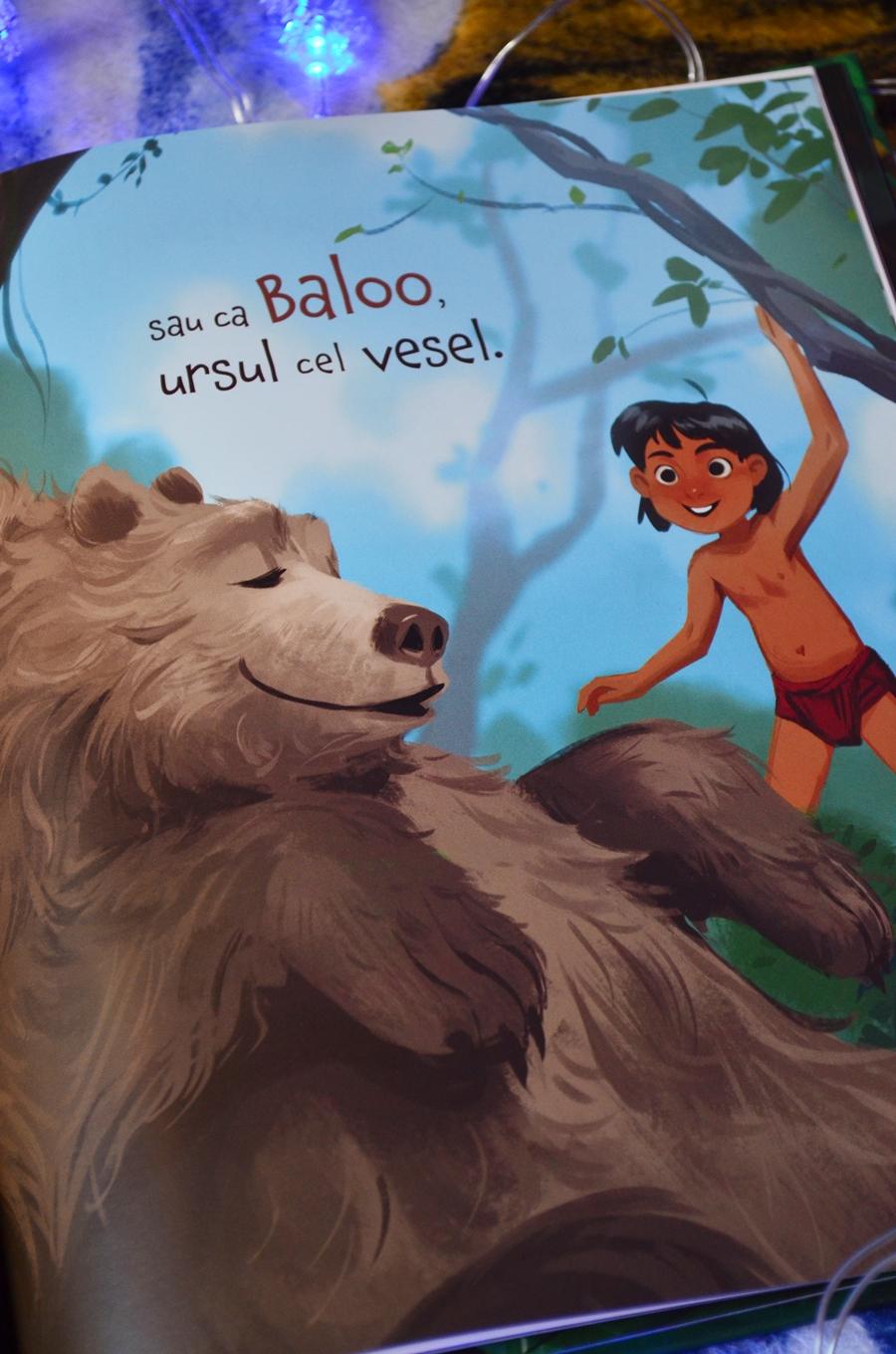 ilustratii carte mowgli si ploaia cartea junglei editura litera