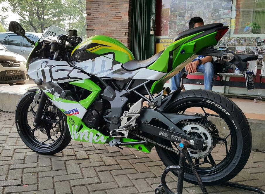 Kawasaki Indonesia tak akan lagi menjual motor sport berharga dibawah 30 Juta ?