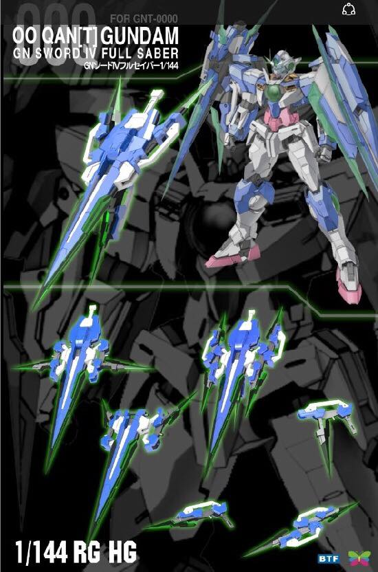 Btf Rg 1 144 00 Quanta Full Saber Add On 3rd Party Kit Gundam Kits Collection News And Reviews