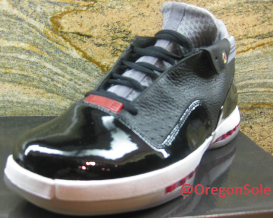 8dcdf278035b ajordanxi Your  1 Source For Sneaker Release Dates  Air Jordan 16 Retro Low  Black Gym Red-Stealth Unreleased Sample