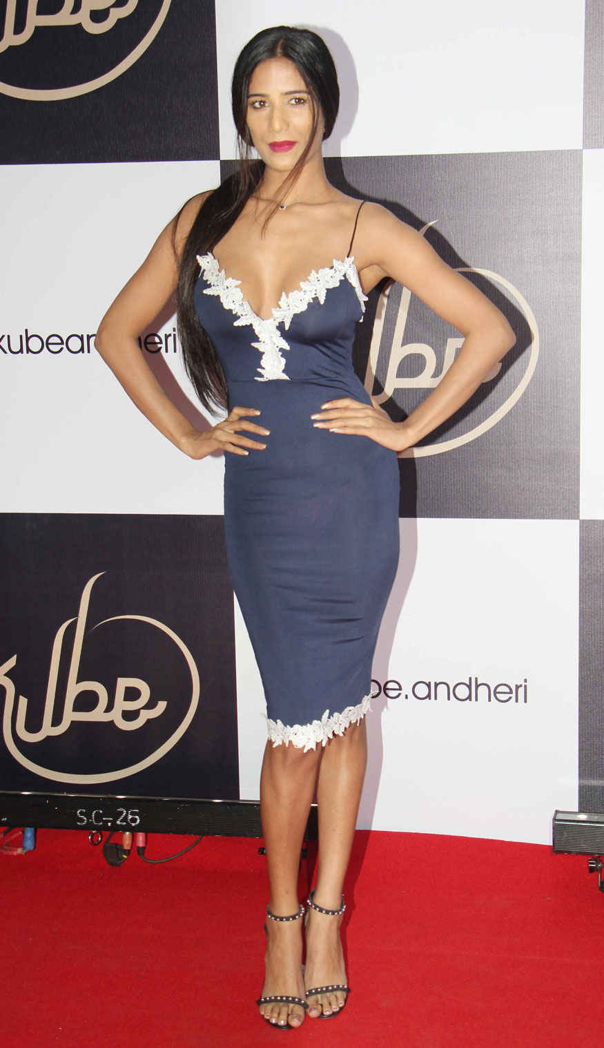 Poonam Pandey During Launch of Kube at Crystal Point In Andheri