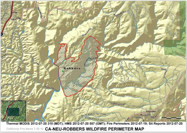 Placer County Fire Map.Cfn California Fire News Cal Fire News Ca Neu Robbers Placer