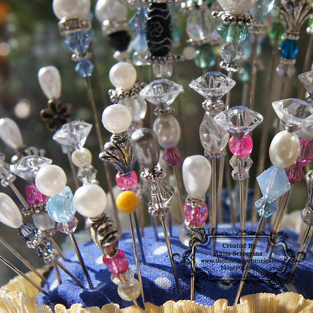 Decorative stick pins