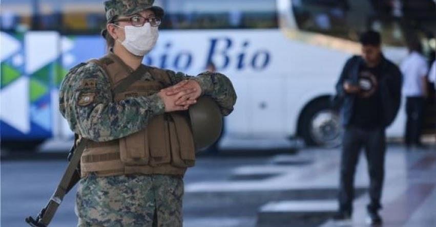 CORONAVIRUS: Chile registra cifra total de contagiados a 1.306 y 4 fallecidos