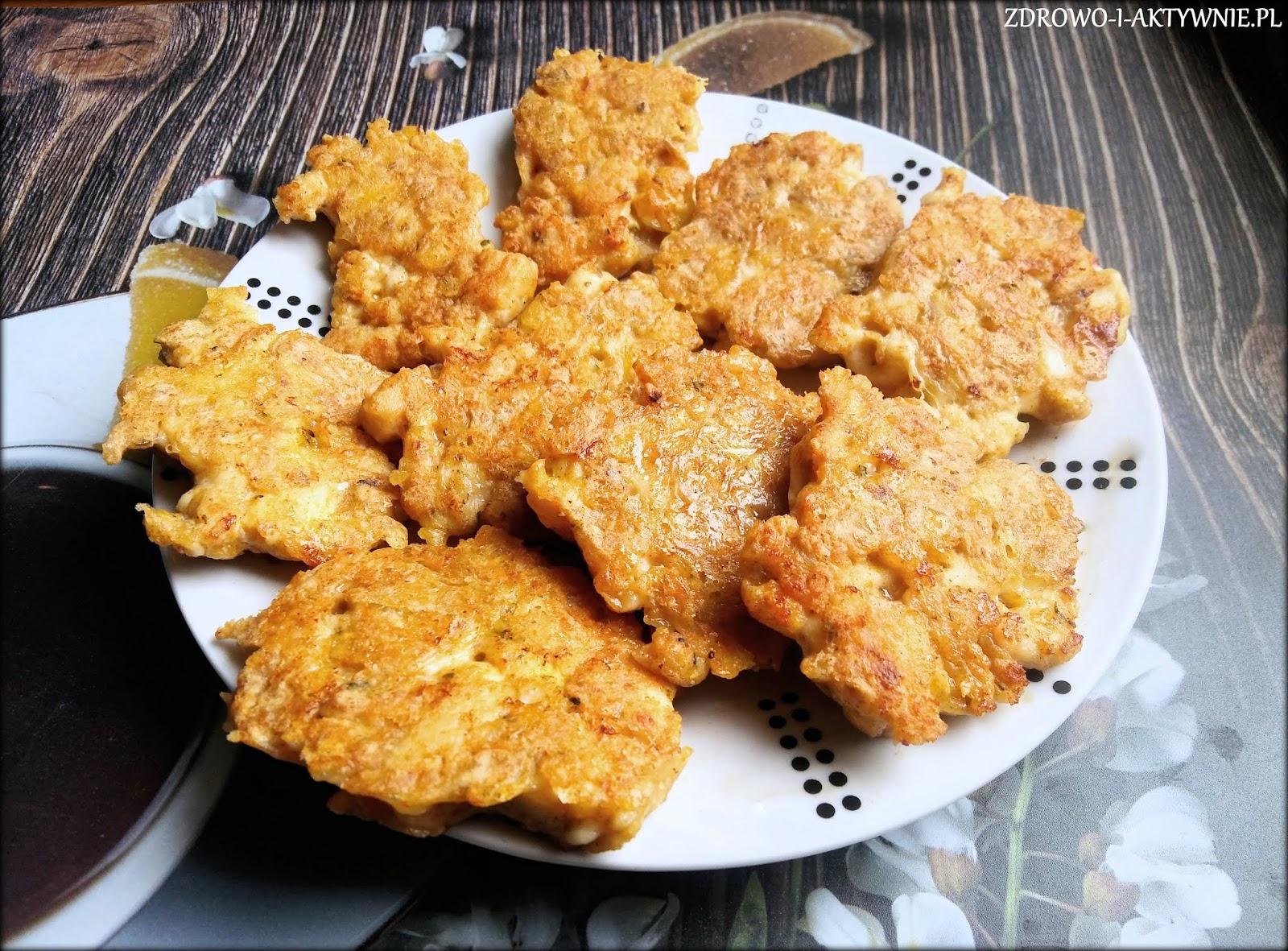 Kotleciki siekane z kurczaka i sera żółtego