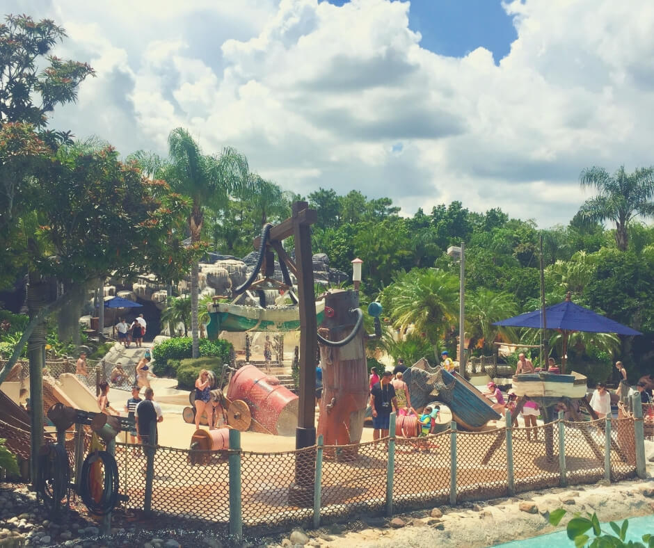 Top 7 Things You Should Do At Typhoon Lagoon, Walt Disney World | The little ones can even have fun at Ketchakiddee Creek.