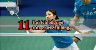 chơi cầu lông