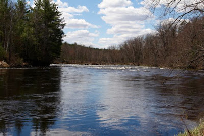 Kettle River, a Nibi Walk river, at Banning State Park