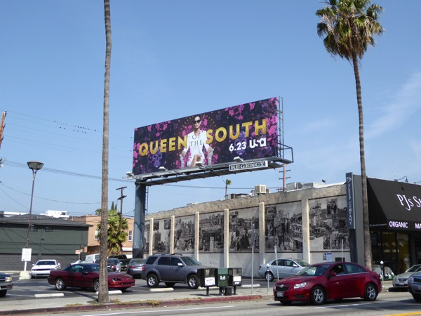 Queen of the South season 1 billboard