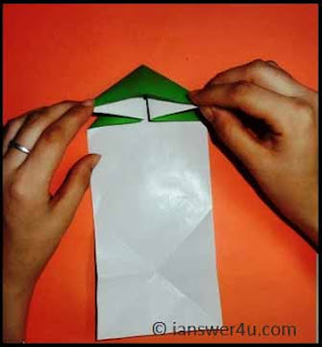 well folded paper airplane