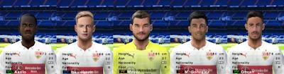 PES 6 Facepack VfB Stuttgart 2018/2019 by Cuervo96