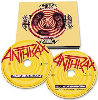 "Anthrax - ""State of Euphoria"" - reedycja"