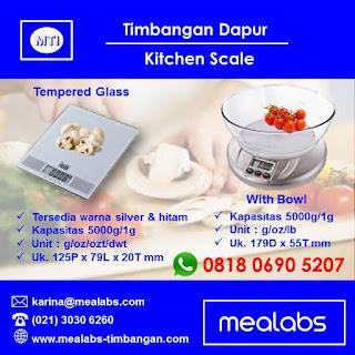timbangan dapur, Kitchen Scale