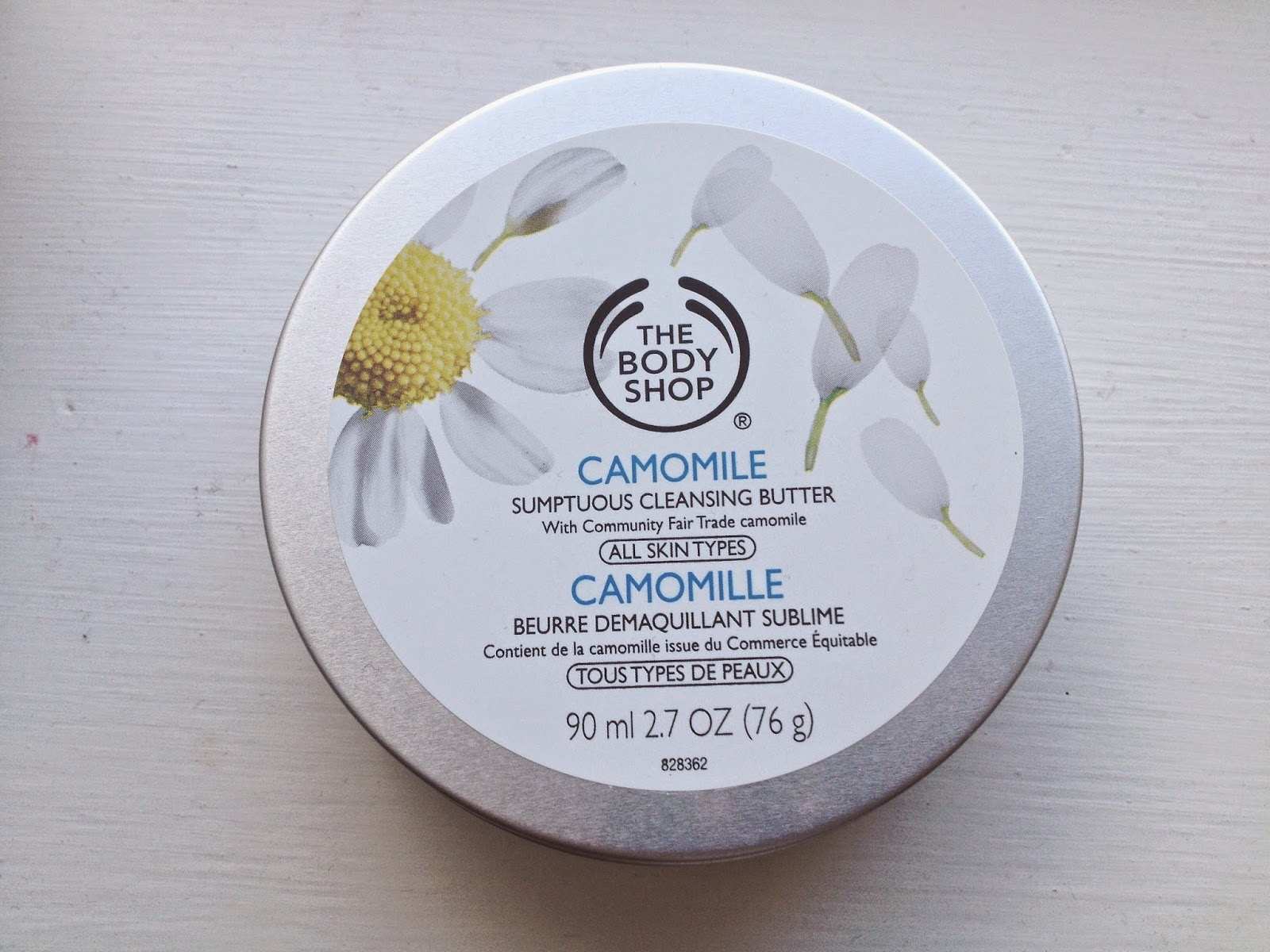 camomille cleanser