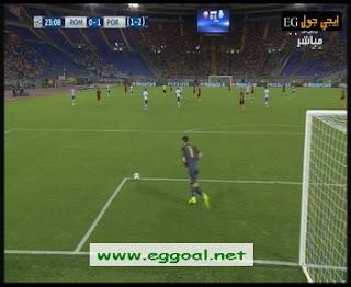 اهداف مباراة روما 0-3 بورتو ||23-8-2016 | دورى ابطال اوروبا rome vs porto