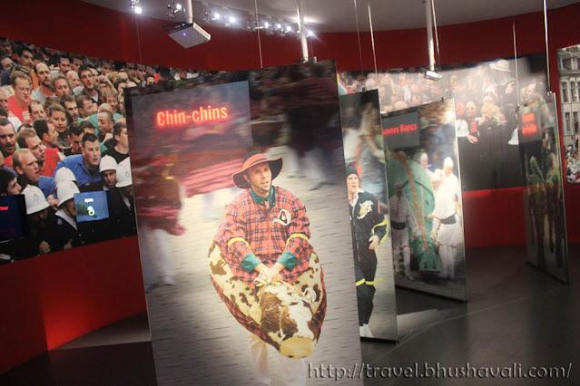 Mons Doudou Festival Museum UNESCO Processions ICH
