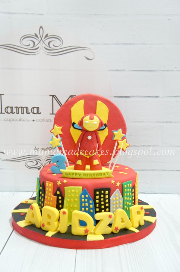 Iron Man Cake Mama Made Cakes