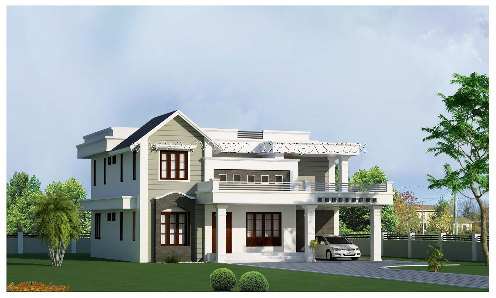 Veedu designs veedu designs kerala home design by navaz ak - Home design photo ...