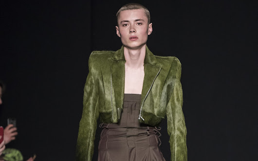 Male Fashion Trends: University of Westminser Fall-Winter 2019-20 - London Fashion Week