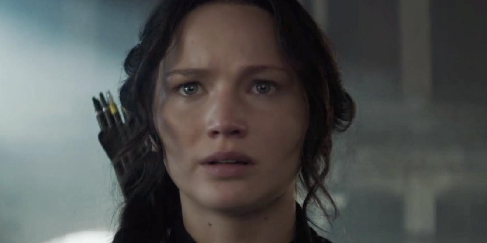 Película Los Juegos del Hambre: Sinsajo Parte 1. Fotografía de Katniss Everdeen
