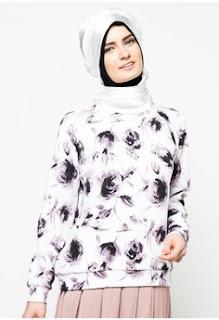 Gambar Model Baju Batik Kantor Wanita Berjilbab