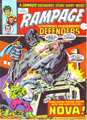 Rampage #6, the Defenders