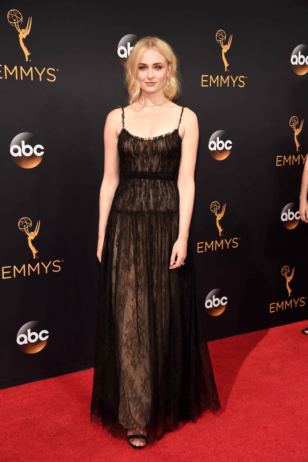Sophie Turner at The Emmy Awards 2016