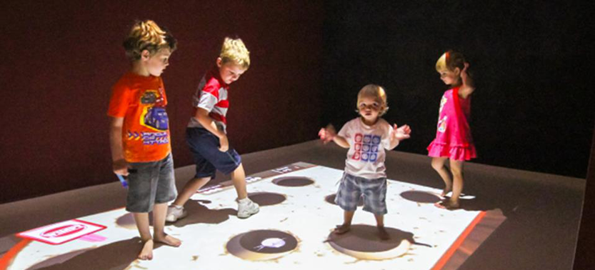 Interactive Wall and Floor Projected Games for Kids: The Future Technology Is Here