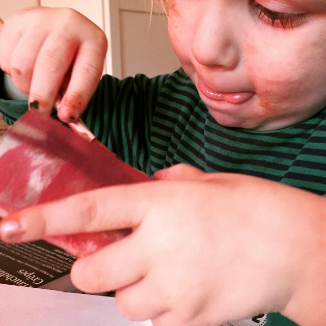 Kugelfisch-Blog: Jannes malt