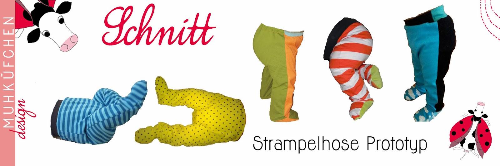 Strampelhose Prototyp Schnitt