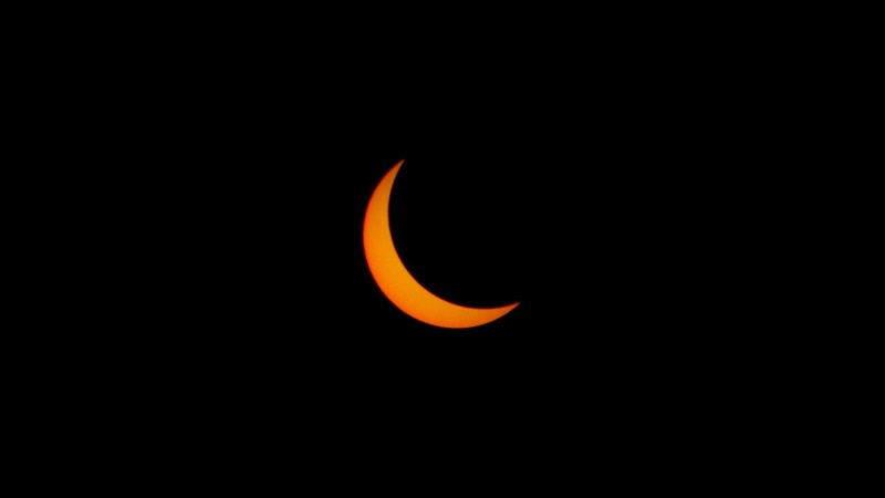 Partial Solar Eclipse 2017 HD