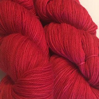 5617867686a Knitting Rose Yarn Blossom Sock in the Girl on Fire colorway