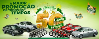 Promoção Cooperalfa 2017 50 Anos 50 Prêmios