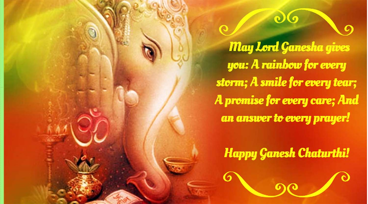 Vinayaka chavithi greetings