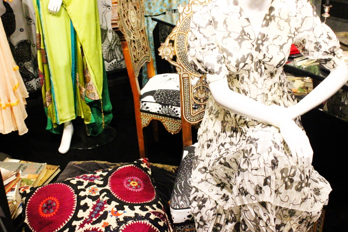 The Porter 70's Bohemian Chic Exhibition