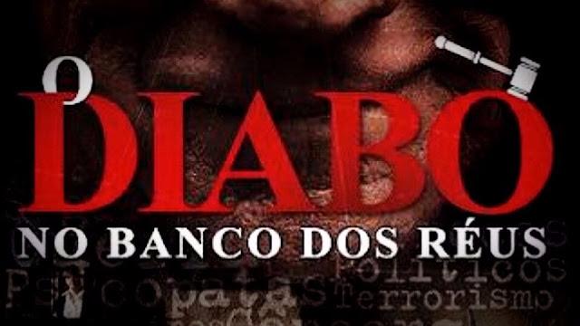 Logo marca do filme O Diabo no Banco dos Réus