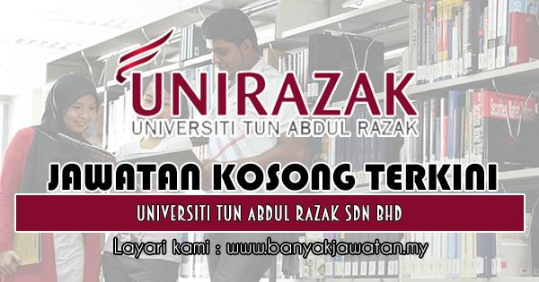 Jawatan Kosong 2018 di Universiti Tun Abdul Razak Sdn. Bhd