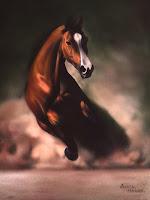 single-running-horse