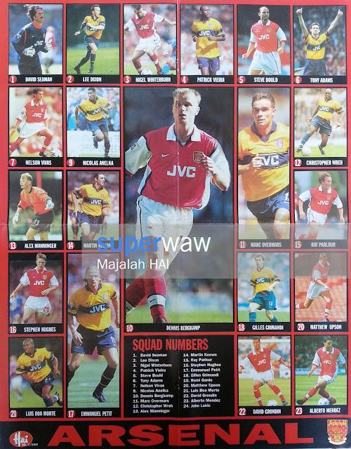 Skuad Arsenal 1998
