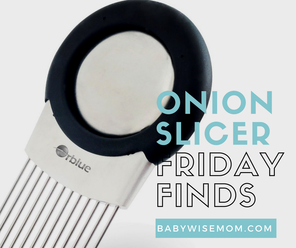 Onion Slicer {Friday Finds}