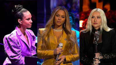Christina Aguilera, Beyonce, & Alicia Keys Pay Tribute At Kobe's Memorial Service With Stirring Live Performances!