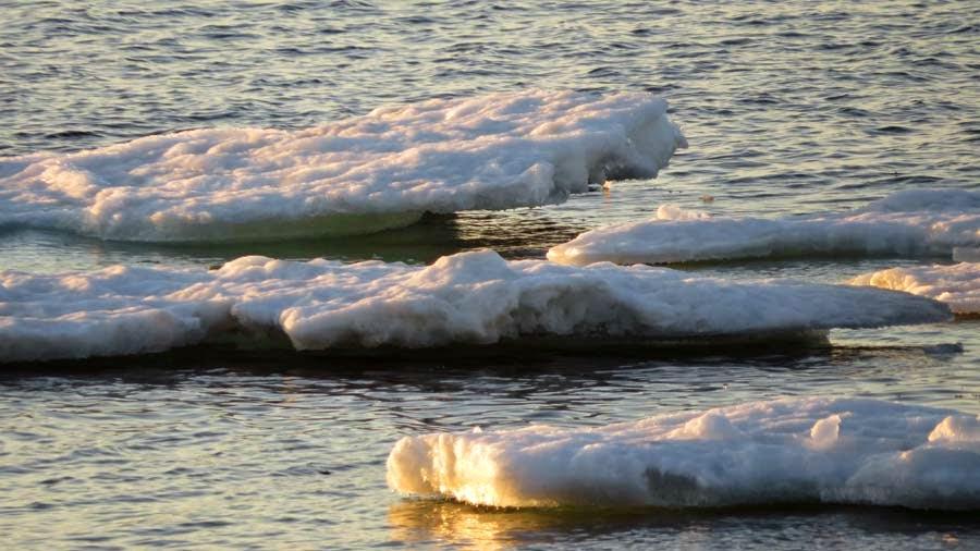 More Lake Superior Ice Cover