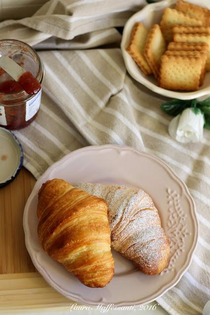 croissant ricetta facile