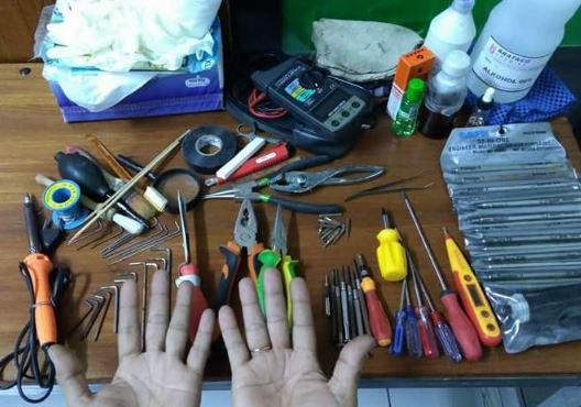 Variasi-Variasi Alat Pertukangan Yang Semestinya Ada Di Rumah
