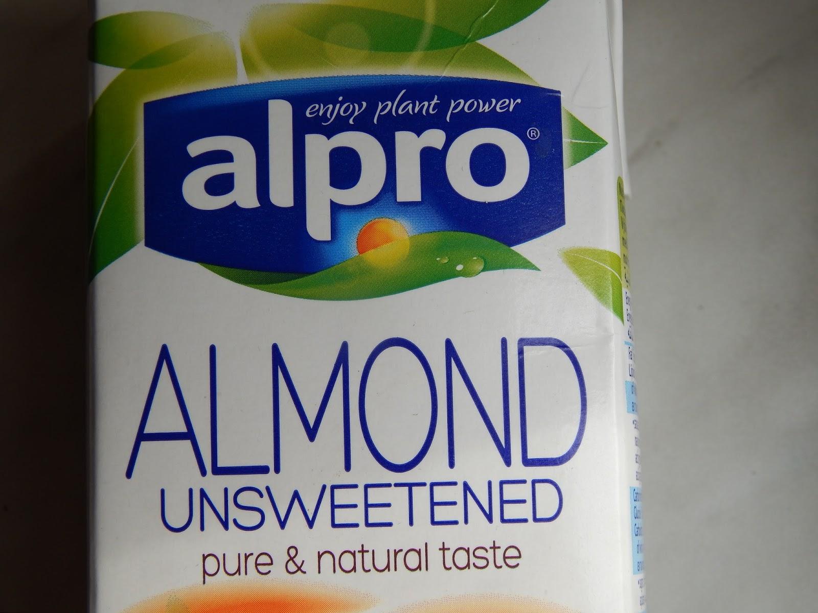 Alpro neslazený mandlový nápoj