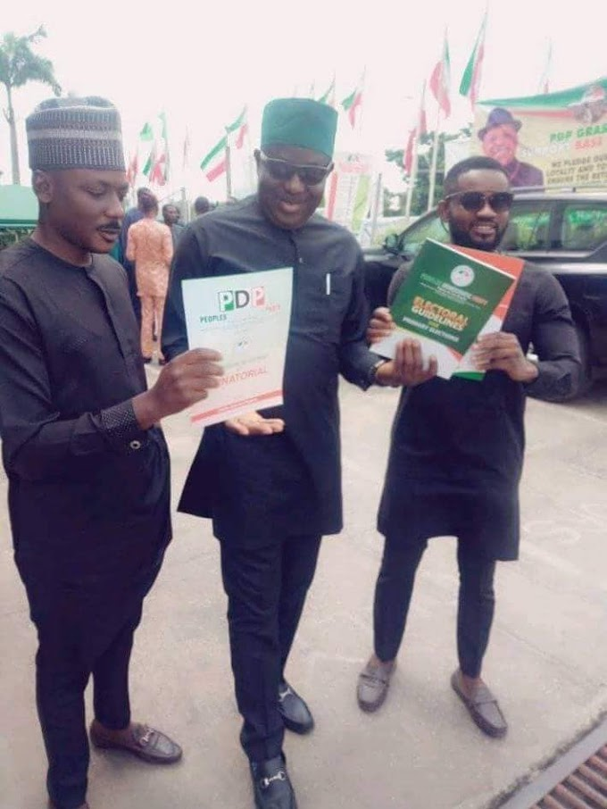 Cross River North: The dice is cast as Udam Tom picks nomination forms